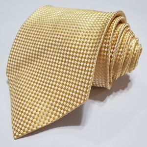 Charvet Yellow Silk Tie